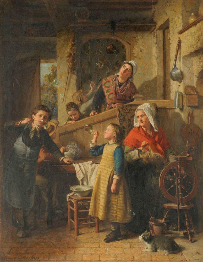 Когда есть чем заняться — стареть некогда: душевные картины о бабушках-рукодельницах, фото № 34