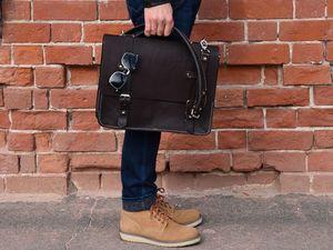 """Видеообзор сумки """"Postman bag"""". Ярмарка Мастеров - ручная работа, handmade."""