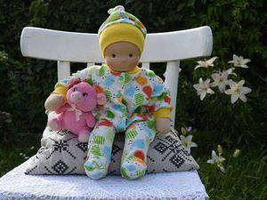 Вальдорфский пупс- младенец | Ярмарка Мастеров - ручная работа, handmade