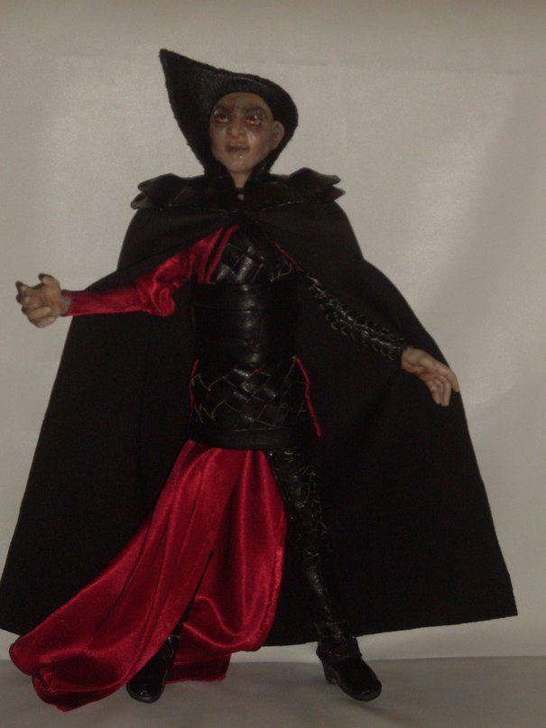 кукла из фимо