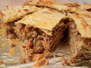 Пирог из Лаваша с Фаршем И Грибами.. Ярмарка Мастеров - ручная работа, handmade.