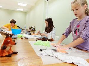 Ёжики и лисичка. Работы участников МК по валянию игрушек. Ярмарка Мастеров - ручная работа, handmade.
