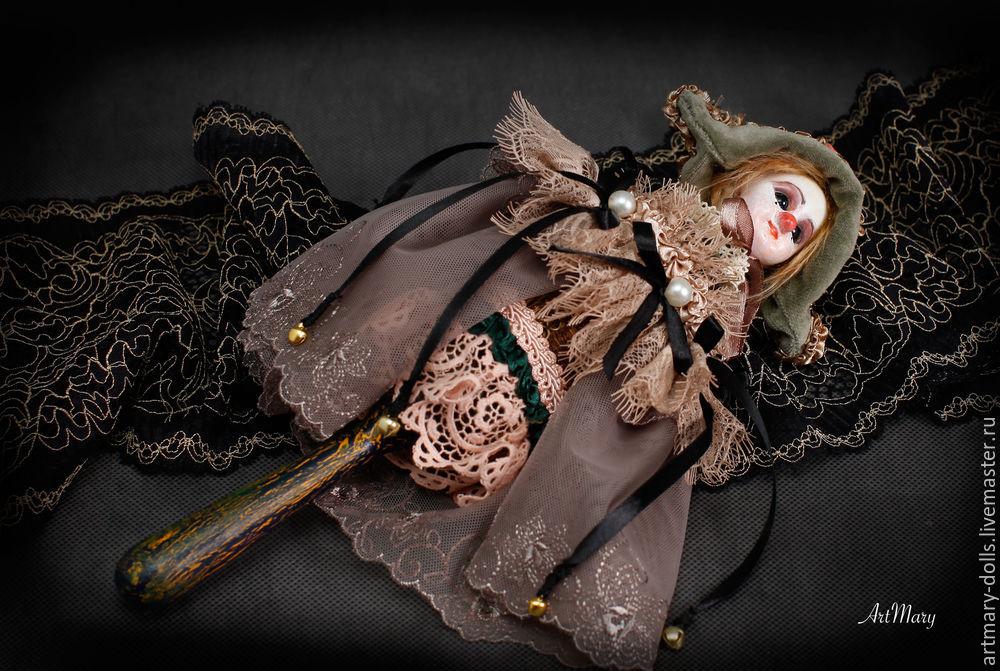 Мастер класс: По изготовлению красивой куклы Marotte