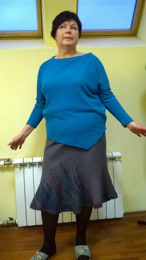 валяние платье