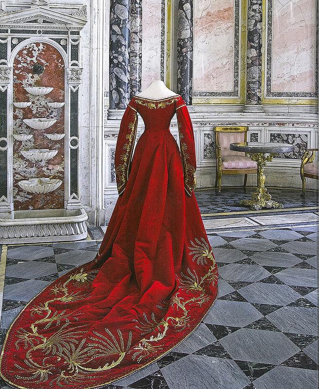 Придворное форменное платье. Часть 1, фото № 14