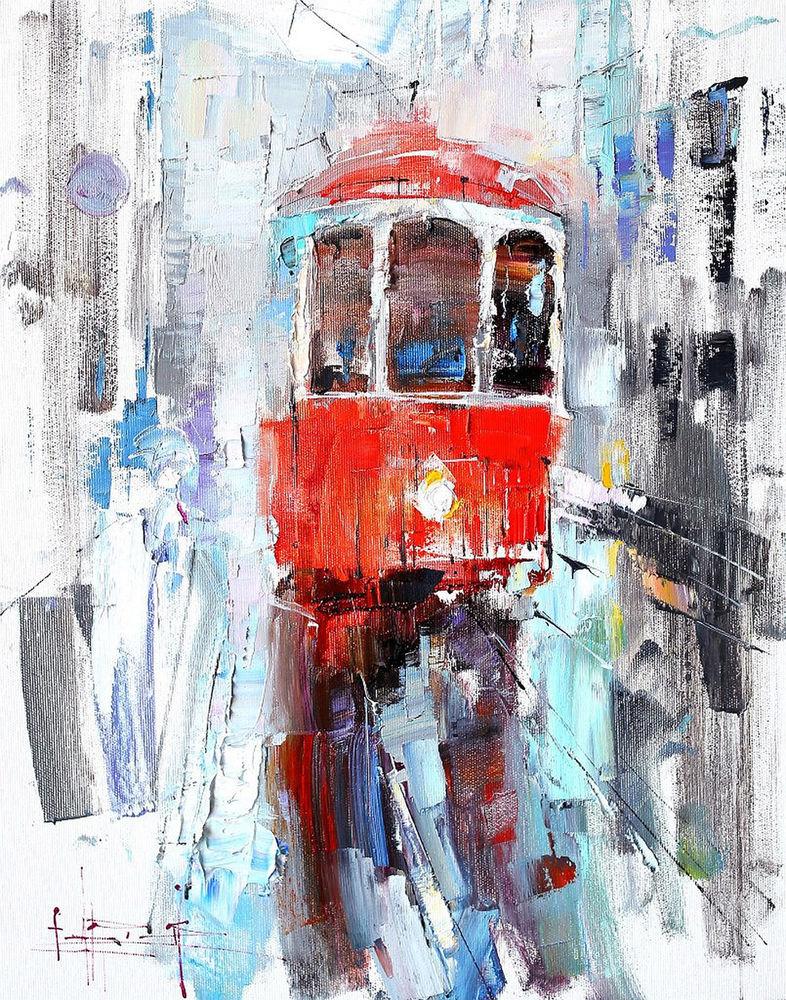 Konstantin Sukhopluev: Artist Painting Rain, фото № 12