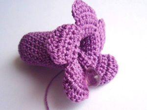 Мастер-класс по вязанию крючком цветка «Сирень». Ярмарка Мастеров - ручная работа, handmade.