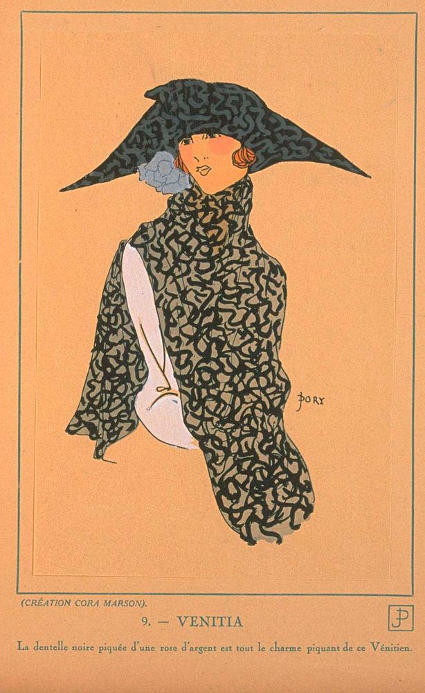 Ах, какие шляпки! Шляпная мода 1922 года по версии французского журнала «Les chapeaux du Tres parisien». Часть 2, фото № 11