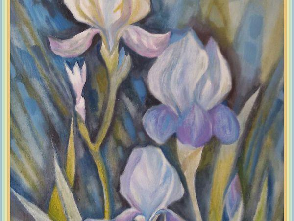 Ирис-легендарный цветок   Ярмарка Мастеров - ручная работа, handmade