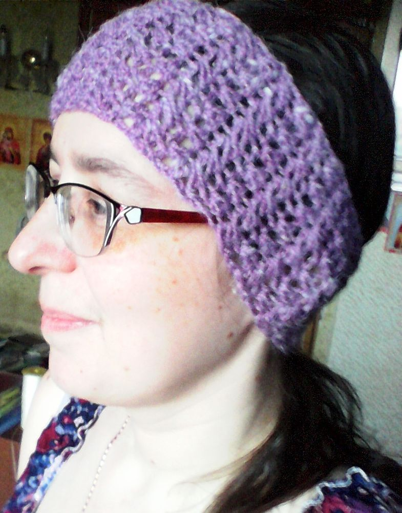 ажурные шапочки, вязание крючком