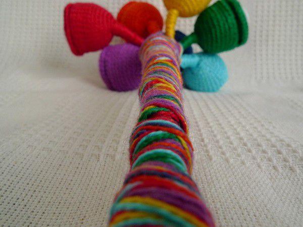 Делаем сами развивающую игрушку «Волшебный цветок», фото № 8