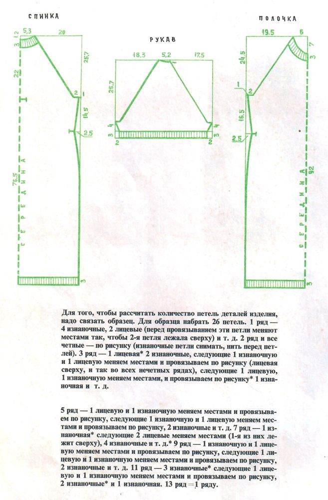 Выкройки из журнала «50 моделей ГУМа» 1972 года. Часть 1, фото № 19