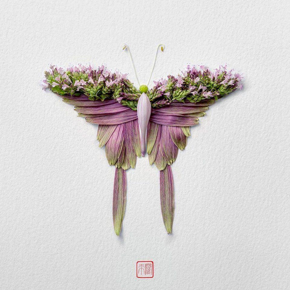 Petal Magic: Unusual Compositions by Raku Inoue, фото № 1