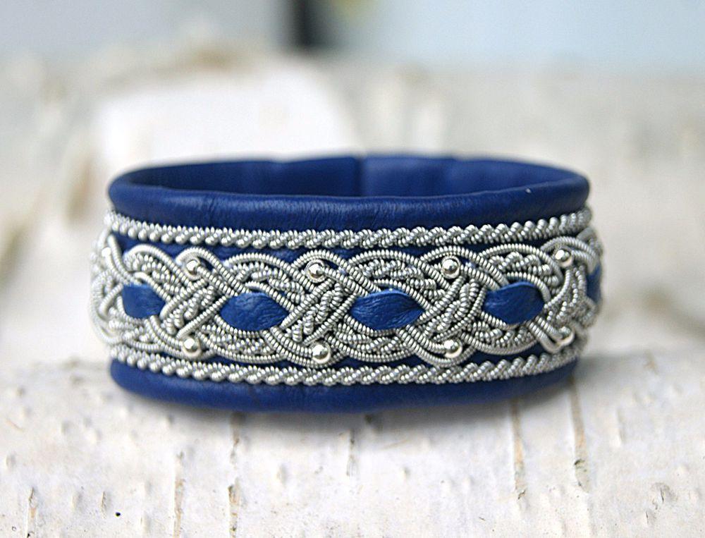 скандинавский браслет, плетеный браслет