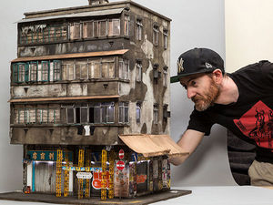 Страна лилипутов: урбанистическая миниатюра Joshua Smith. Ярмарка Мастеров - ручная работа, handmade.