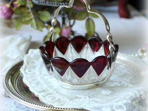 Дополнительные фотографии вазочки для варенья. Ярмарка Мастеров - ручная работа, handmade.
