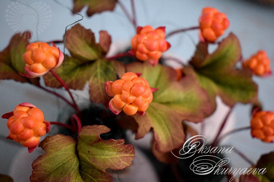 ягоды из фоамирана, изделия на заказ