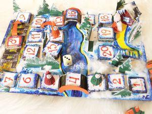 «Помоги гномам доставить подарки Дедушке Морозу»: мастерим настольную игру из подручных материалов. Ярмарка Мастеров - ручная работа, handmade.