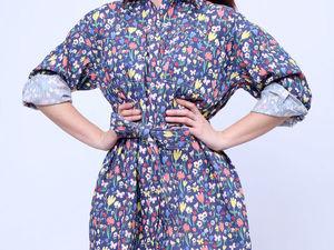 Скидка 40% на платье-рубашку Полюшко. Ярмарка Мастеров - ручная работа, handmade.