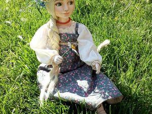 Новая кукла,скоро в продаже!Дуняша. Ярмарка Мастеров - ручная работа, handmade.