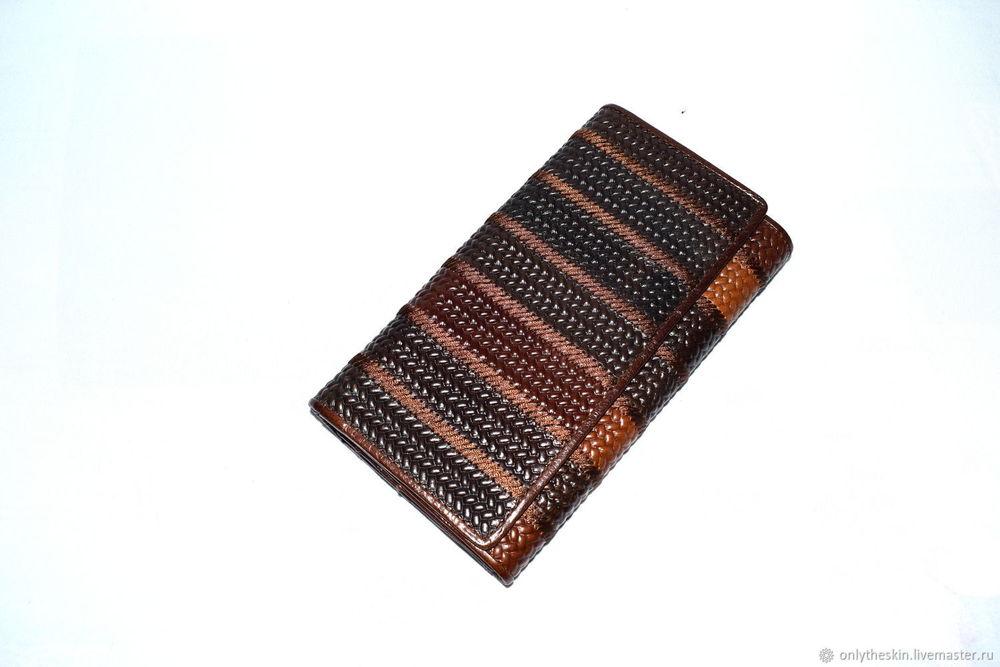 подарок для женщины, кожаный кошелек
