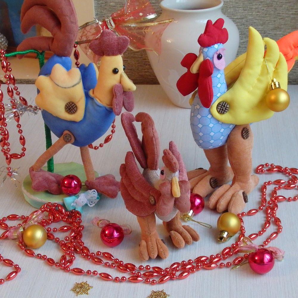 новогодние подарки, петушок, сувенир на новый год, игрушки из шерсти, игрушка в подарок