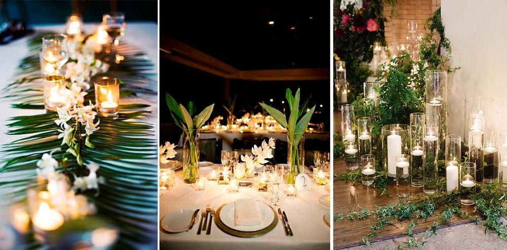 декор тропической свадьбы, свадебные цветы