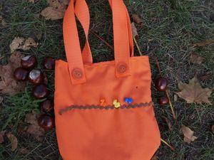 Шьем детскую сумочку. Ярмарка Мастеров - ручная работа, handmade.
