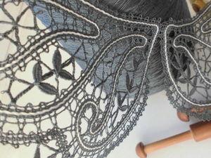 Работа на заказ - воротничок Леди Ди ( фотоотчет). Ярмарка Мастеров - ручная работа, handmade.