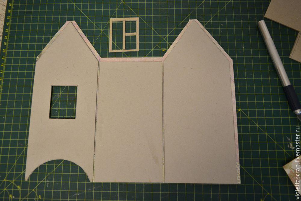 Мастер-класс: изготавливаем дуэт из чайных домиков с конфетницей, фото № 5