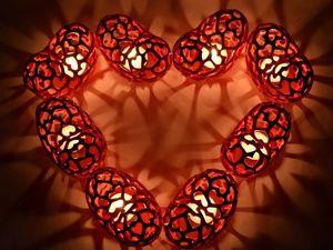Готовимся к Дню Валентина! Подсвечник-сердце   Ярмарка Мастеров - ручная работа, handmade