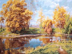 Осенние пейзажи!. Ярмарка Мастеров - ручная работа, handmade.