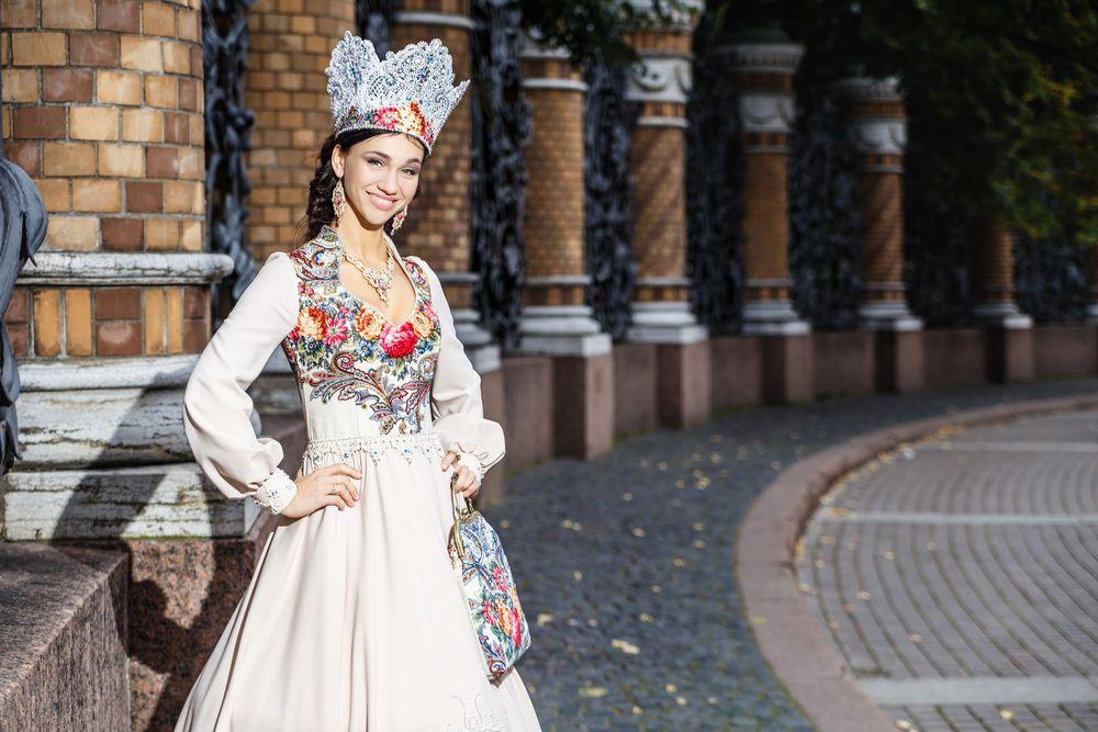 русское свадебное платье, сон бабочки