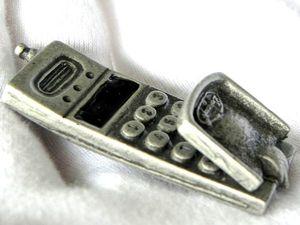 АУКЦИОН! Старт 300 рублей! Брошь Мобильный телефон,Danecraft,США. Ярмарка Мастеров - ручная работа, handmade.