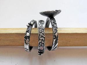 Как правильно чернить серебро с помощью обычной серной мази. Ярмарка Мастеров - ручная работа, handmade.