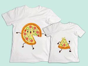 Оригинальный фемилилук Пицца! | Ярмарка Мастеров - ручная работа, handmade