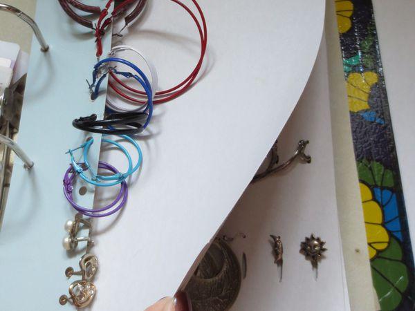 Как просто сделать органайзер для бижутерии из папки на кольцах | Ярмарка Мастеров - ручная работа, handmade