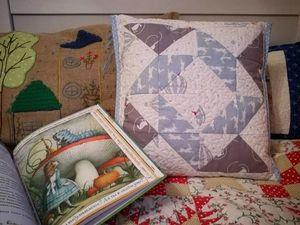 Шьем лоскутный чехол на подушку без молнии. Ярмарка Мастеров - ручная работа, handmade.