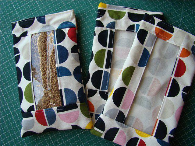 Как сделать мешочек для круп