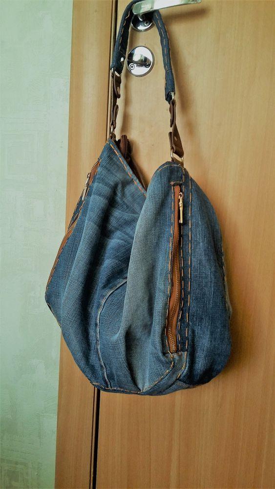 сумка женская, джинсовый стиль