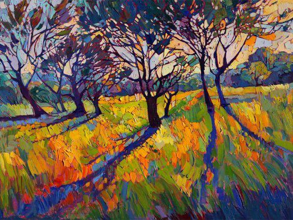 Красочный импрессионизм в пейзажах американской художницы Erin Hanson | Ярмарка Мастеров - ручная работа, handmade