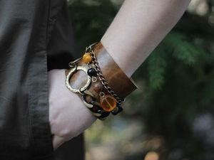 Новинки в магазине — кожаные браслеты!. Ярмарка Мастеров - ручная работа, handmade.