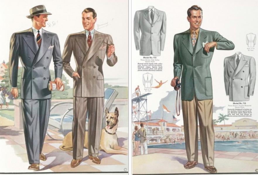 История дизайна костюма в двух словах