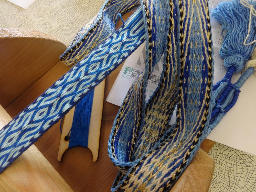 ткачество на дощечках, тканый пояс, пояс