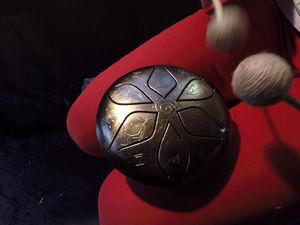 Карманный кованый глюкофон - Minima Steel Space Drum. Ярмарка Мастеров - ручная работа, handmade.