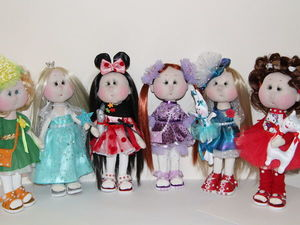 Куклы ручной работы. Ярмарка Мастеров - ручная работа, handmade.