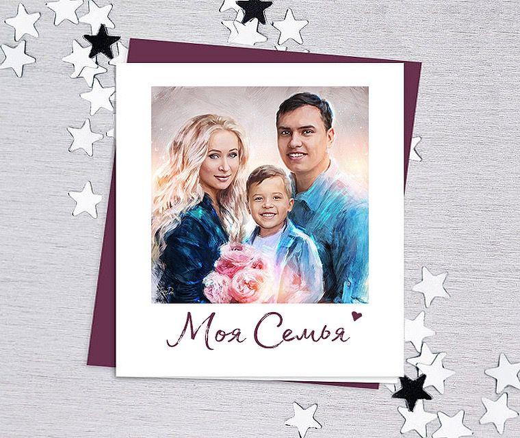 открытка, love story