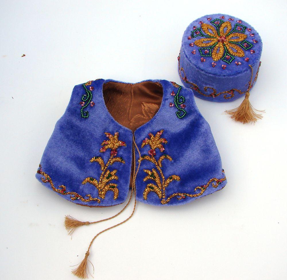одежда для тедди, этнический костюм