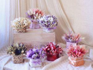 """Знакомство с сухоцветами от """"Соцветия"""". Ярмарка Мастеров - ручная работа, handmade."""