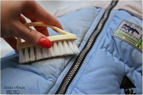 Как помыть пуховик в домашних условиях